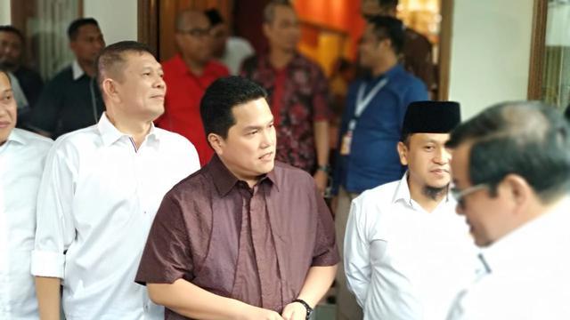 Prabowo Tuding Pemilu Curang, Erick Thohir: Tidak Ada Intervensi