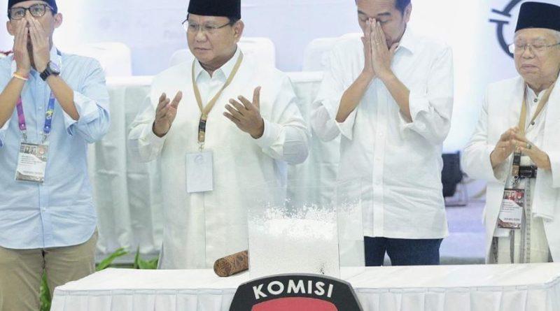 Real Count KPU Sore Ini 72 Persen, Intip Suara Jokowi Vs Prabowo